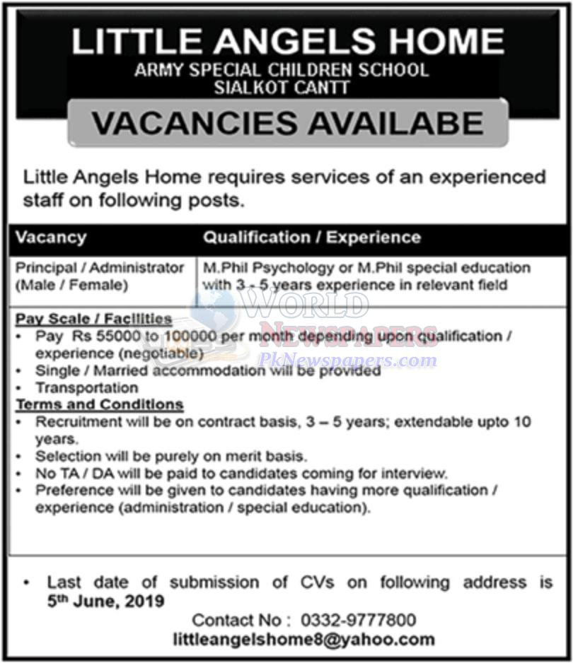 Jobs in Little Angels Home School